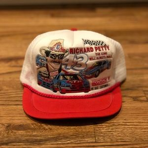 VINTAGE Richard Petty rope hat